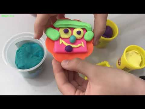 DIY Play Doh Nails%21 Oyun Hamurundan Trnak Yapm