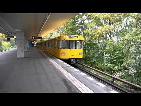 U-Bahn Berlin Bahnhof Holzhauser Straße U6 [1080p]