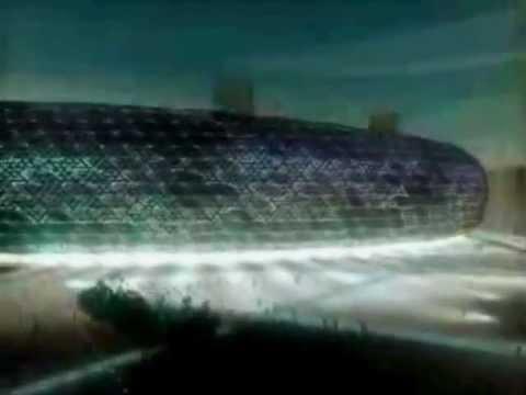 Como será el nuevo estadio La Romareda
