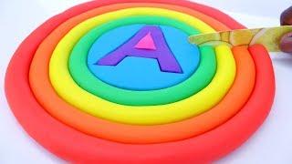 Play Doh Ice Cream Cake Rainbow Learn Colors Magic Sand Kids Videos
