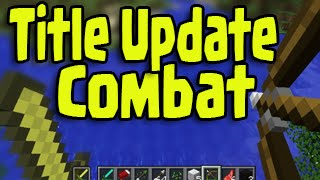 """Minecraft PS3, PS4, Xbox - Dual Wield Title Update """"New Combat System"""""""