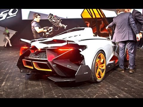 lamborghini egoista sound - start up and revs!