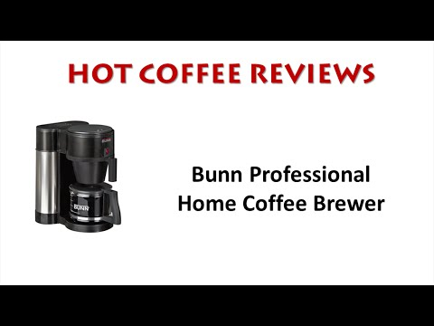 Bunn Professional Home Coffee Maker Review