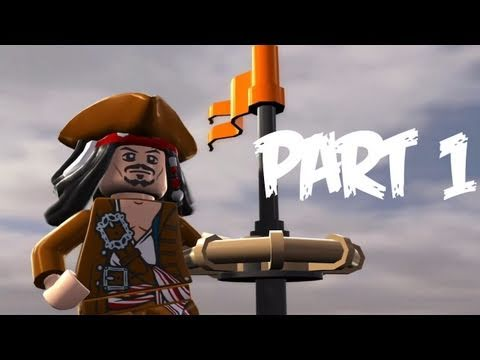 геймплей LEGO Pirates of the Caribbean