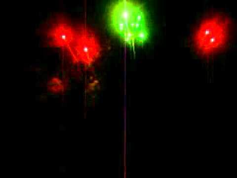 Natal Luz em Novo Cabrais 14.12.12 (fogos de artifício)