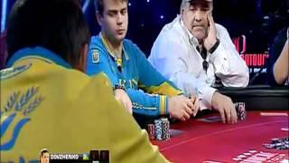 Partouche Poker Tour Table Finale - 1ere Main Relancée Par Roger Hairabedian