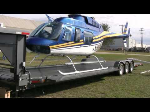 Aerial Filmworks Helicopter Transport Trailer онлайн видео
