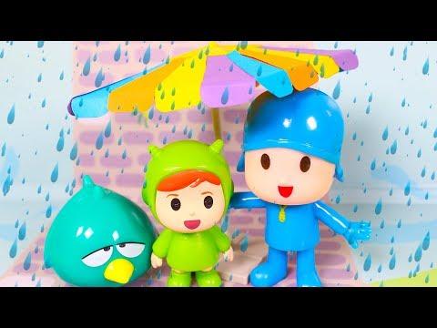 Pocoyo Toys Episodes  Pocoyo and friends go to Pool  Pocoyo in English