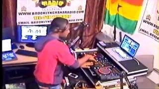 Ghana Hiplife Mix - Azonto Mix..Dj Prince Brooklyn On Ghana Radio..