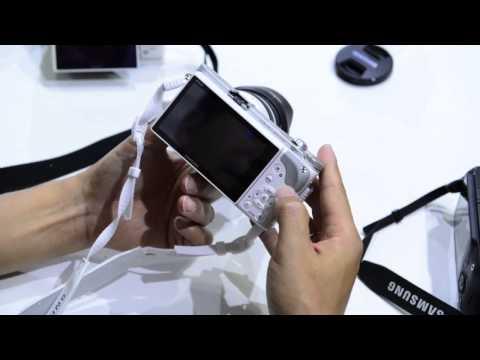 Video trên tay máy ảnh Samsung NX300 mới nhất