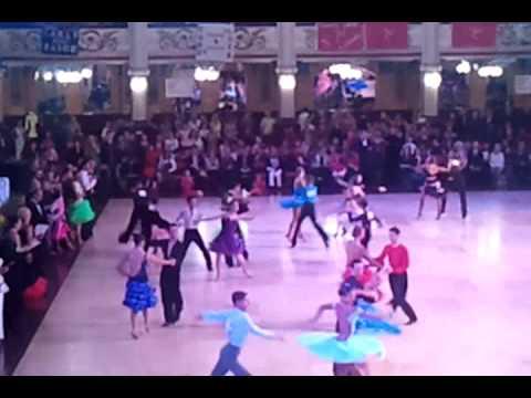 Samba - Junior Blackpool Dance Festival 2011