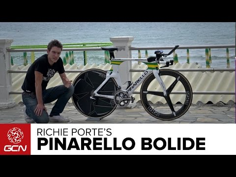 Richie Porte's Pinarello Bolide Time Trial Bike | Giro D'Italia 2015