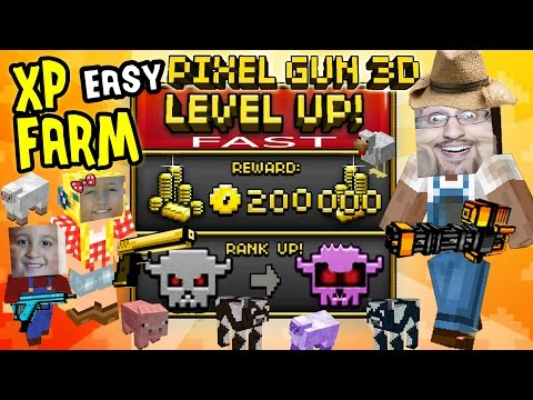 pixel - Mike, Lexi & Dad show you our tip for getting XP and Money FAST in Pixel Gun 3D. You really only need two players to do this, but our demonstration is with t...