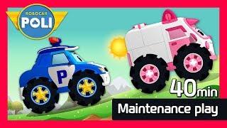Video Maintenance Special play for Kids | 40min | Robocar Poli Game MP3, 3GP, MP4, WEBM, AVI, FLV Oktober 2018