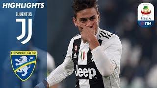 Download Video Juventus 3-0 Frosinone | Ronaldo and Dybala Help Juventus Beat Frosinone | Serie A MP3 3GP MP4