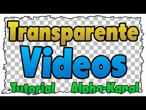 Videos mit tranparentem Hintergrund (Alpha-Kanal) erstellen – TUTORIAL – Ohne ChromaKey!