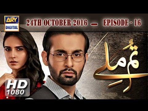 Tum Milay Ep 16 - 24th October 2016 - ARY Digital Drama