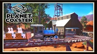 Planet Coaster:  Two Huge Builds For The Mine Roller Coaster   (Season 2 - part 14)