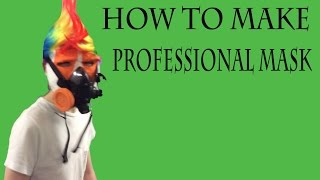 How To Make A Professional Mask At Home