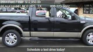 2004 Ford F150 Lariat SuperCrew 2WD - for sale in AMARILLO,