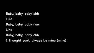 Baby by Justin Bieber ft. Ludacris ♥ with lyrics.