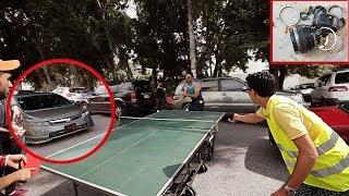 Reto especial: Jugamos Ping Pong en la calle y nos dañan la cámara