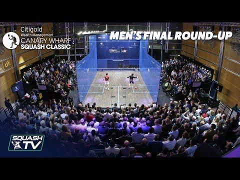 Squash: Canary Wharf Classic 2019 - Coll v Momen Final Roundup