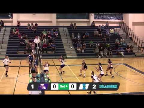 Islanders Volleyball topples Northwestern State 3-1