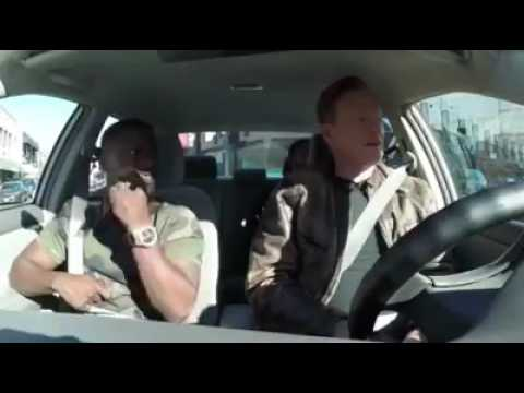 Kevin Hart, Ice Cube and Conan smoke weed with a student driver (видео)