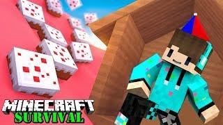 Video MENGUBAH DARATAN MENJADI KUE COKELAT ! Minecraft Survival #55 MP3, 3GP, MP4, WEBM, AVI, FLV Juli 2018