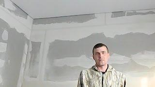 Бесшовный потолок 11 м<sup>2</sup>