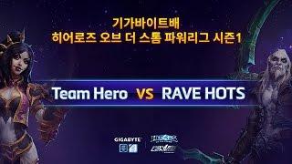 파워 리그 4강 2경기 1부 Team Hero VS RAVE HOTS