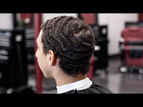 HOW TO CUT A STRAIGHT HAIR 360 WAVER TUTORIAL