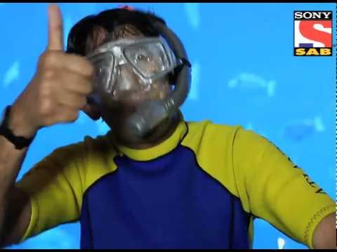 Chintu does Scuba Diving