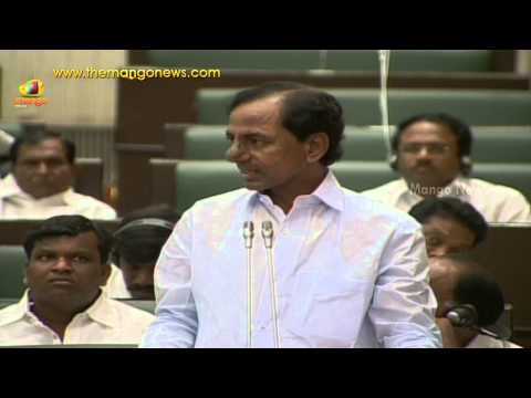Telangana CM KCR powerful speech in the assembly - Telangana assembly