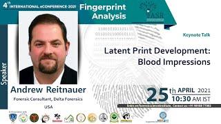 Latent Print Development : Blood Impressions