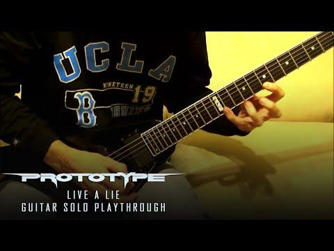 Prototype - Live A Lie - Guitar Solo - Kragen Lum