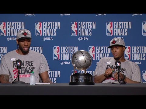 Kawhi Leonard & Kyle Lowry Postgame Interview - Game 6 | Raptors Vs Bucks | 2019 NBA Playoffs