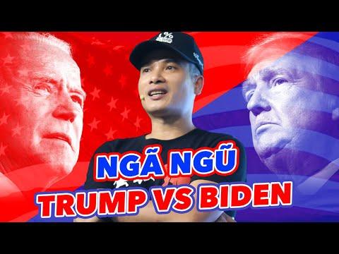 """HẬU BẦU CỬ MỸ: NGÃ NGŨ DONALD TRUMP vs. BIDEN! LIỆU MNUCHIN CÓ """"XẤU CHƠI"""" FED? CHỨNG KHOÁN TUẦN TỚI?"""