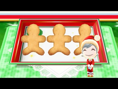 Cooking Ginger Cookies - Android Gameplay - Cooking Mama Let's Cook #56 - No Commentary