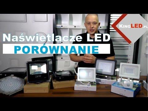 Naświetlacze LED porównanie produktów