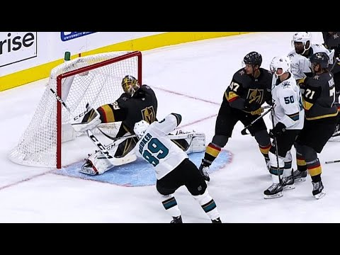 Video: Fleury rolls dice, comes up with big blocker save