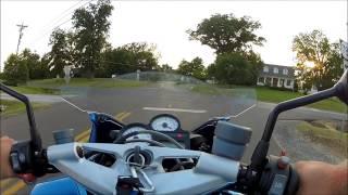 3. BMW K1200R Sport with GoPro