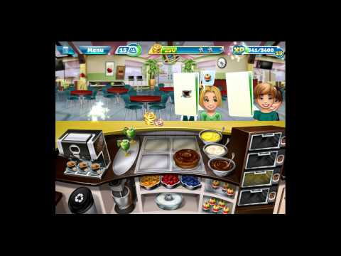 Cooking Fever [iPad Gameplay] Bakery Level 28