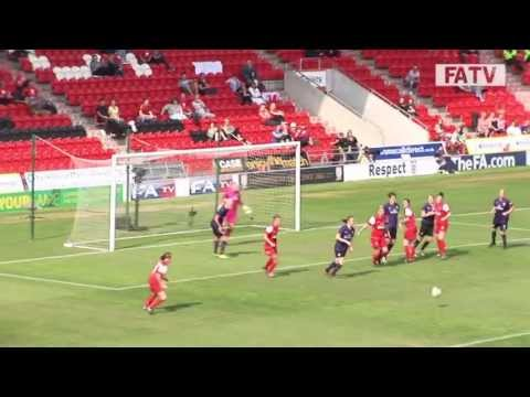 Arsenal vs Bristol Academy, FA Women's Cup Final 2013