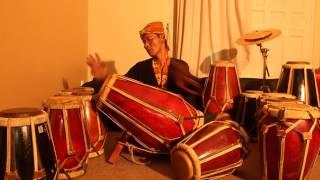 Irama Rampak Gendang Sunda Cikarang OMAN PEANG 2013 Video