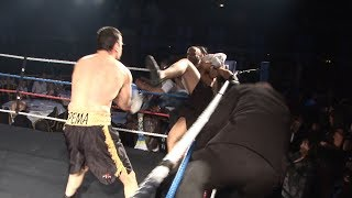 Download Lagu Classic Unlicensed Boxing - Mad Fight Ends in Brawl - Alan Kitson v John Pema Mp3