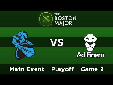 Newbee vs Ad Finem — Game 2 • Playoff Main Event — Boston Major