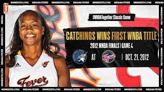 2012 WNBA Finals Game 4: Tamika Catchings goes off for 25 PTS and 8 AST | #WNBATogether #20HoopClass by WNBA