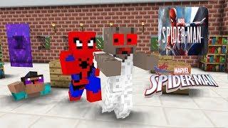 Video Monster School:Marvel Spider-man VS Granny Horror- Minecraft Animation MP3, 3GP, MP4, WEBM, AVI, FLV Oktober 2018